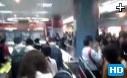 广州地铁免费首日被挤爆